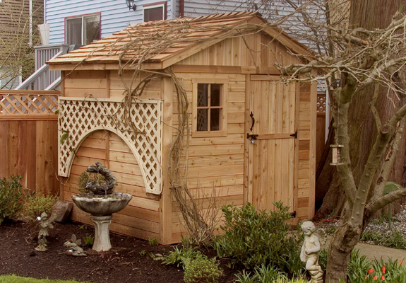 Outdoor Living 8'X8' Gardener Shed